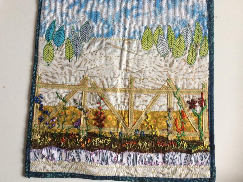 By a Member of the Quilting Group