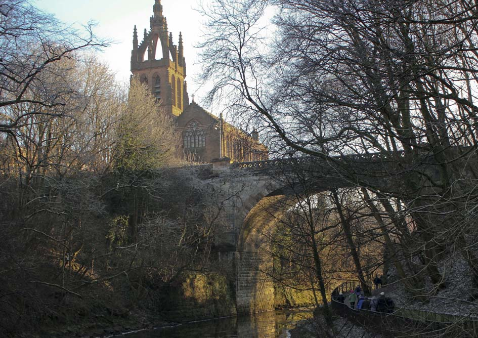 Over the Kelvin (From our Walking Group)