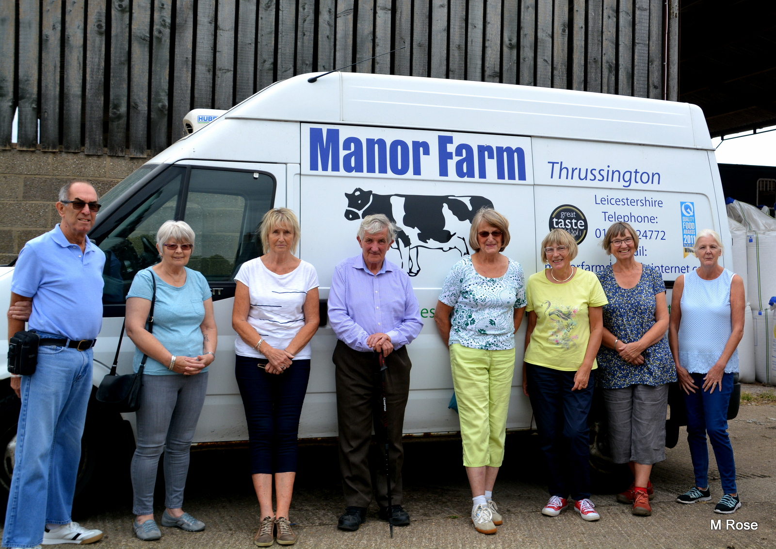 Group Visit to Manor Farm Thrussington