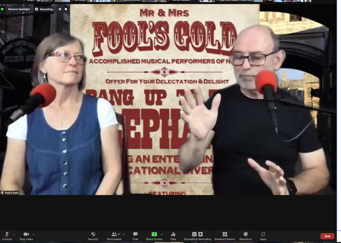 Fools Gold - September Monthly Meeting