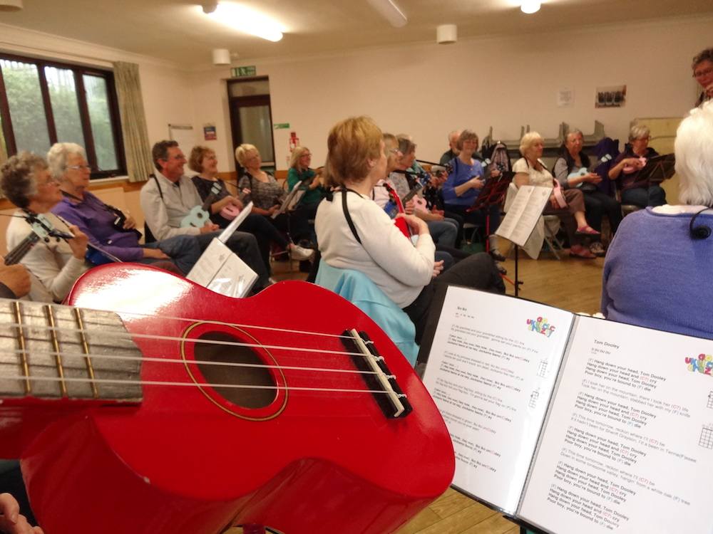 Getting to grips with a Ukulele 12th May