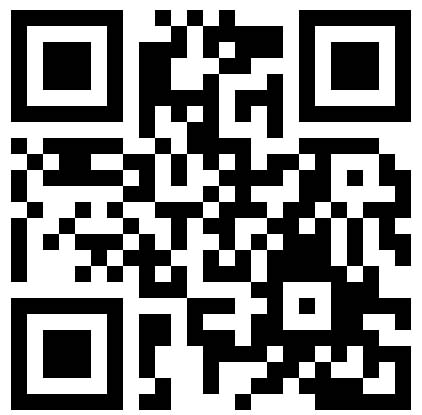 QR code to sign up for Network News