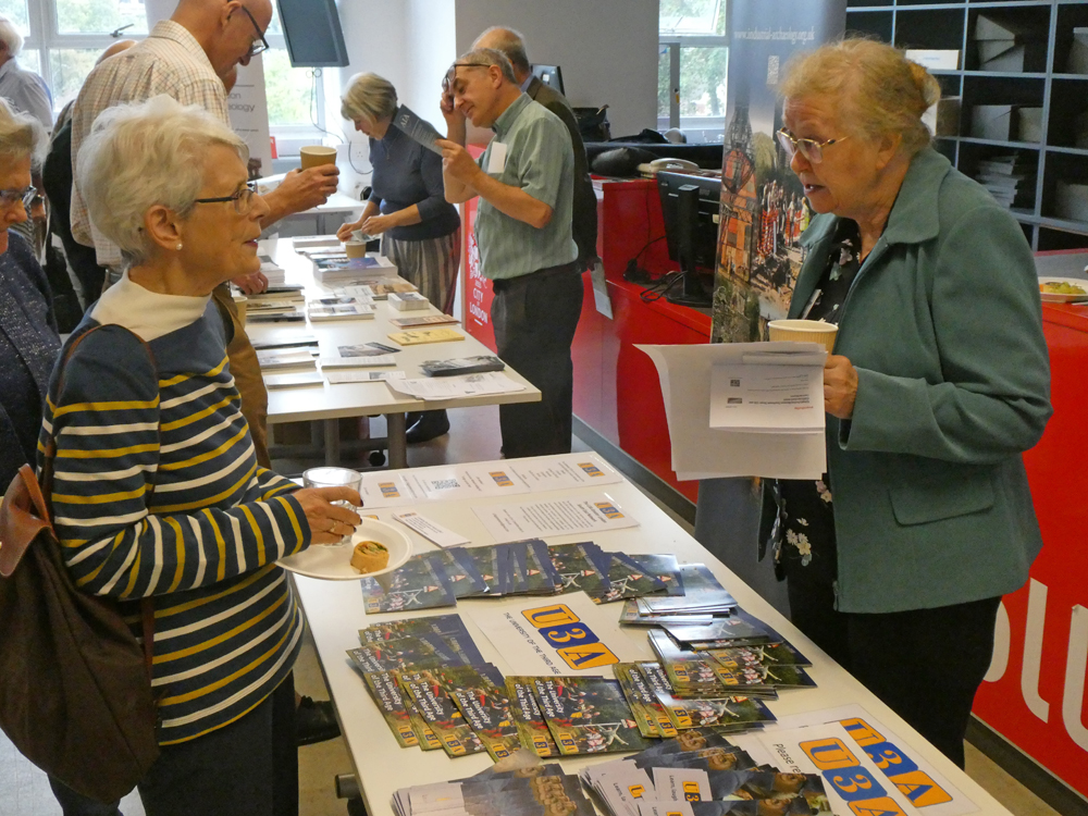 The U3A Info Table