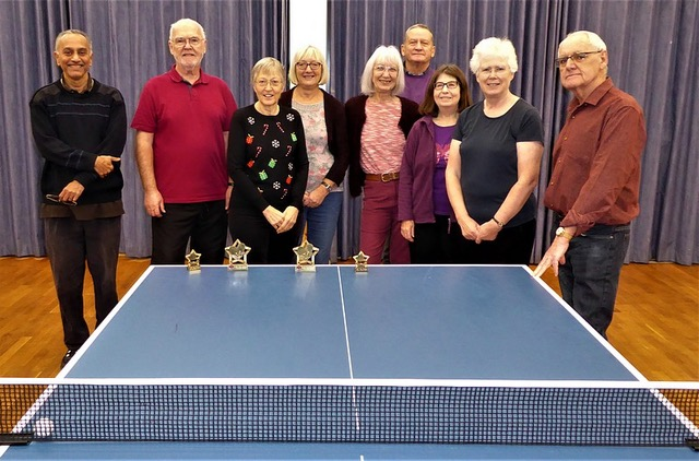 Triumph for our table tennis team