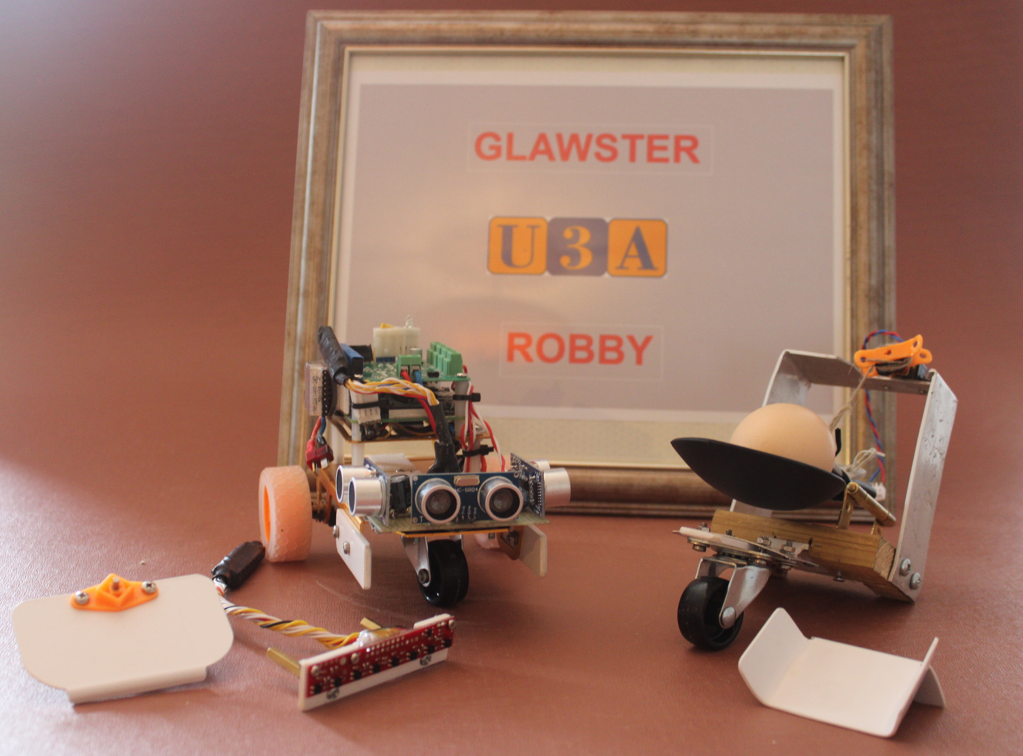 Our competitor - Glawster Robby.