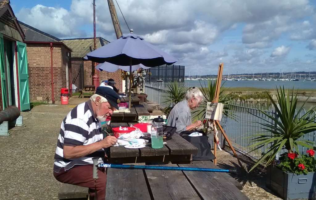 Artists at Work in the Sun - Sep 2019