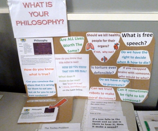 Philosophy at AGM 2018