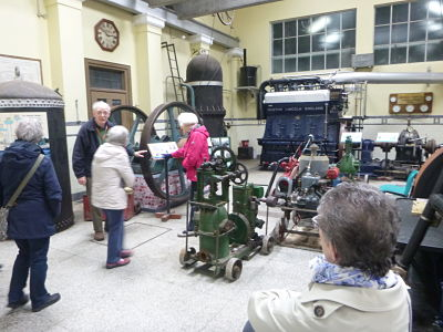 Twyford Waterworks machine room
