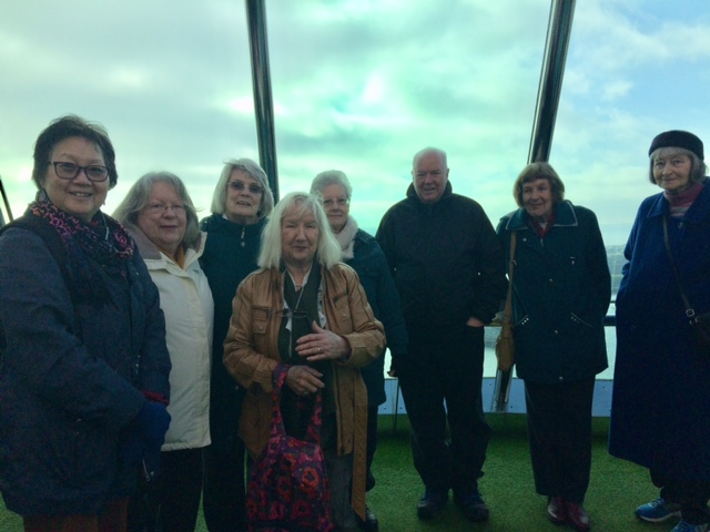 To the top! Spinnaker Tower Outing!