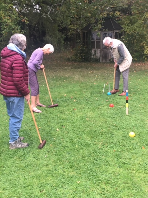 Croquet at Annes