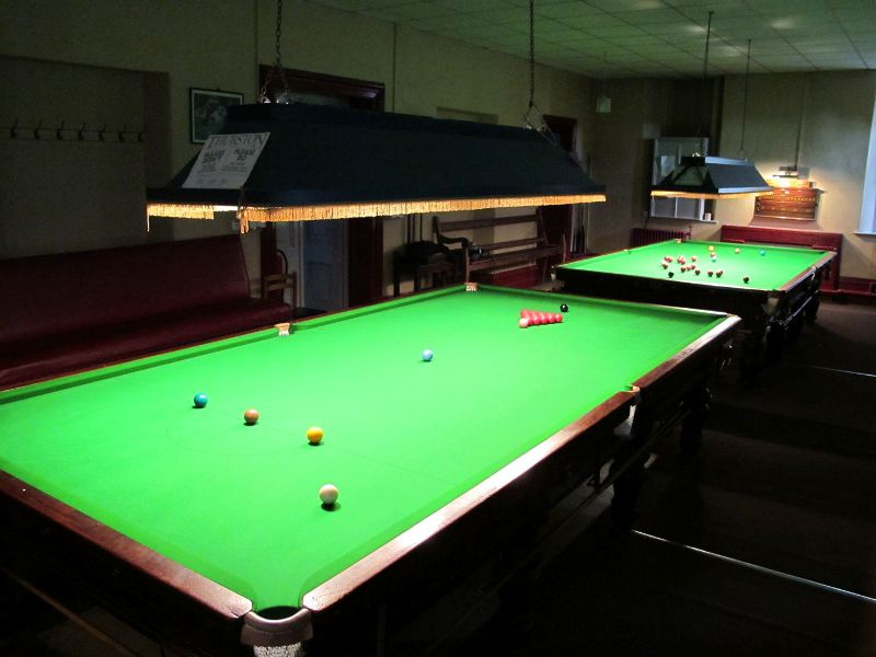 Snooker at the Institute