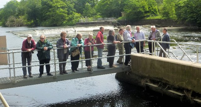 Visit to the Lune River Hydro 2017