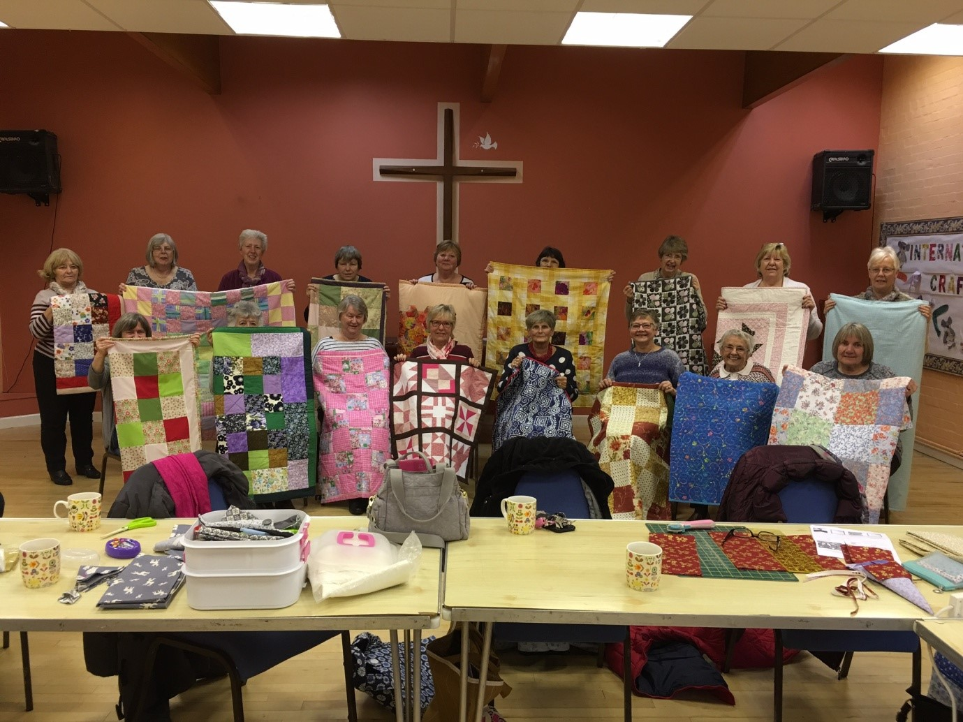 The craft and sewing group