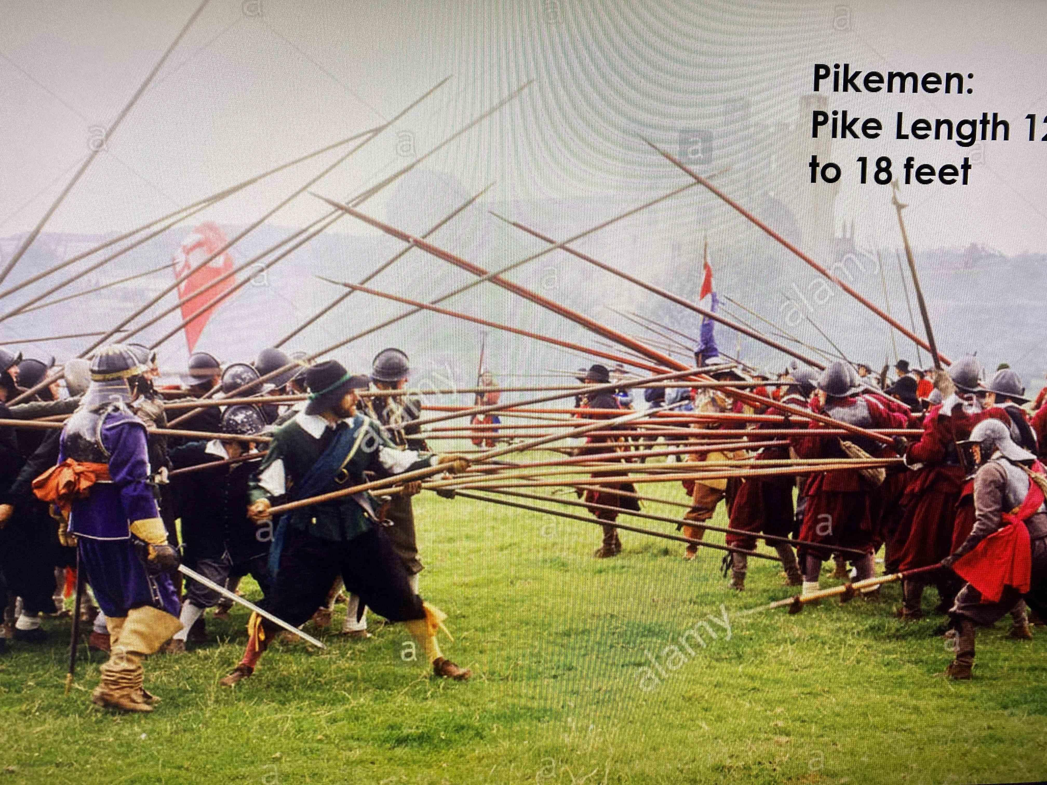 Pikemen English Civil War