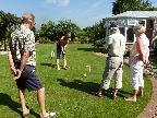 Outdoor croquet
