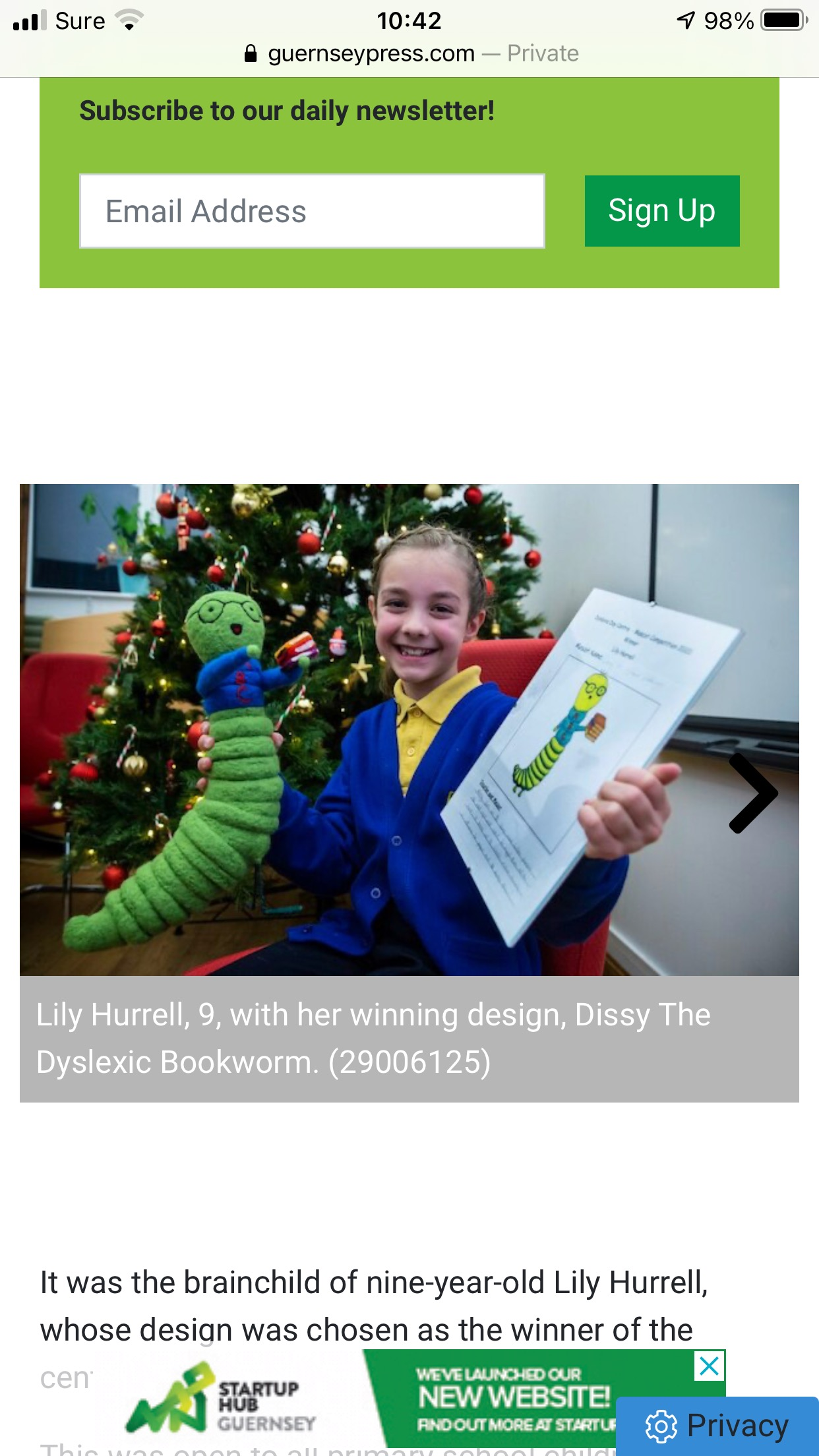Community Project for Dyslexia Care