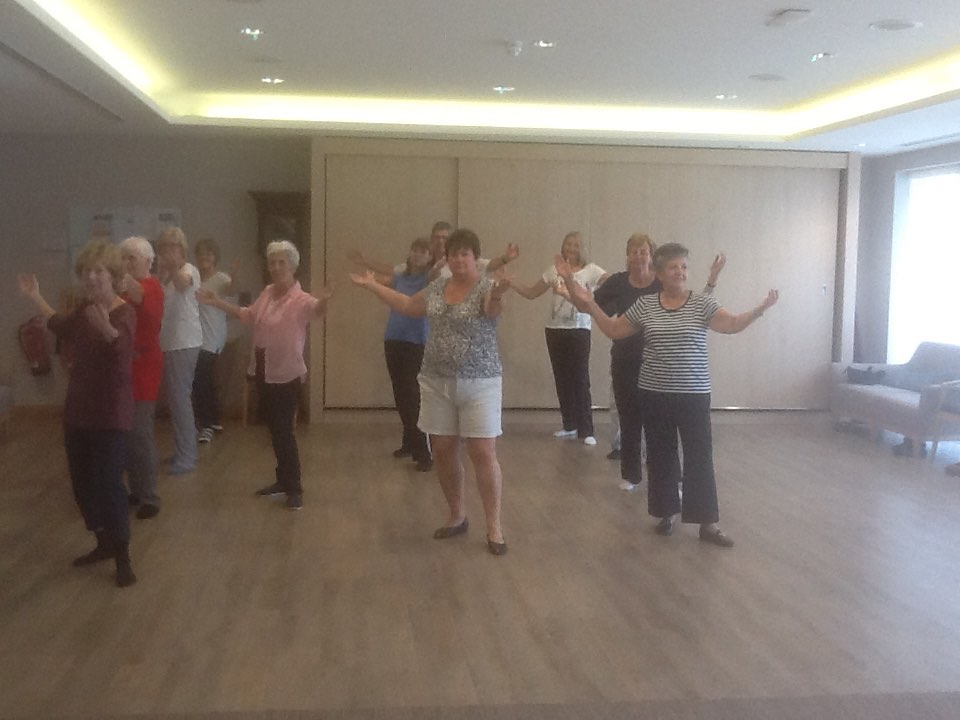 Tai Chi Group in flow!