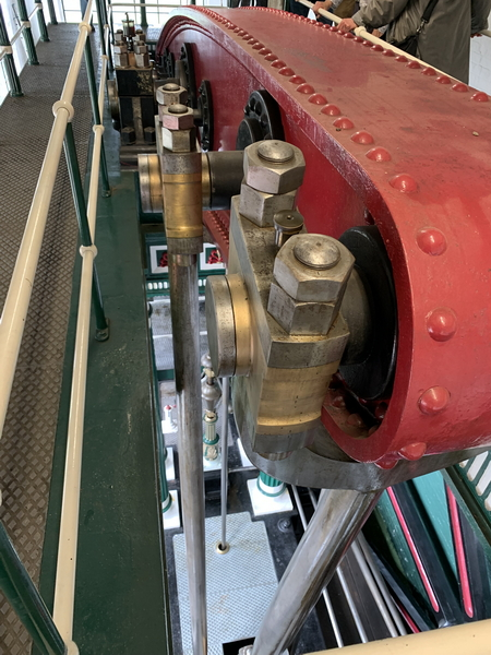 Close up of Beam Engine