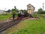 Our Engine on Turntable