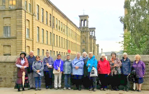 Some of or group on heritage Tour