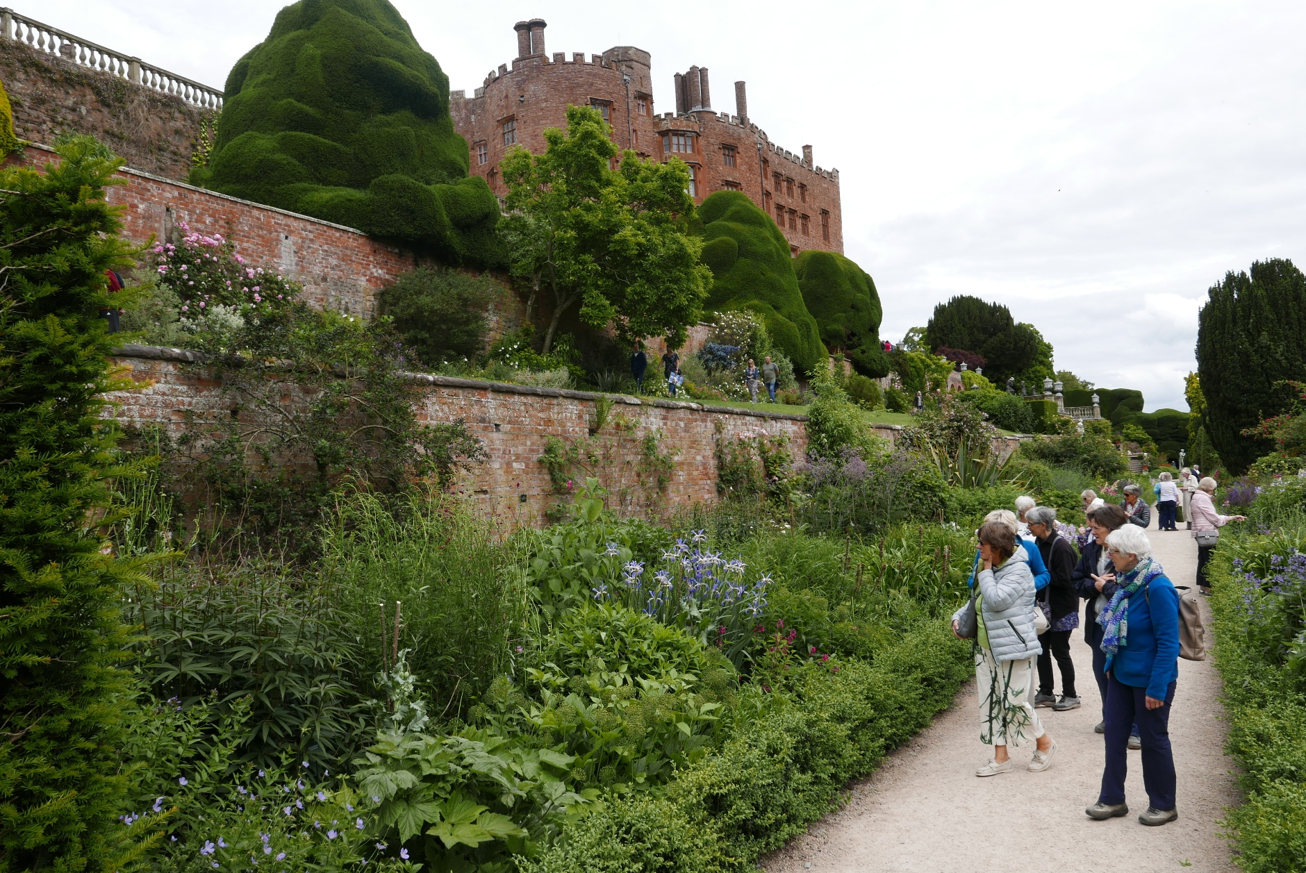Powis Castle June 2018