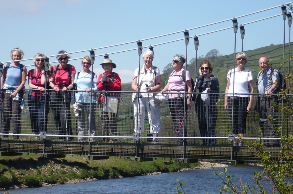 Suspension Bridge at Reeth