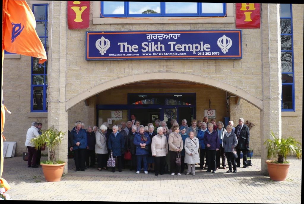 Visit to a Sikh Temple in Leeds