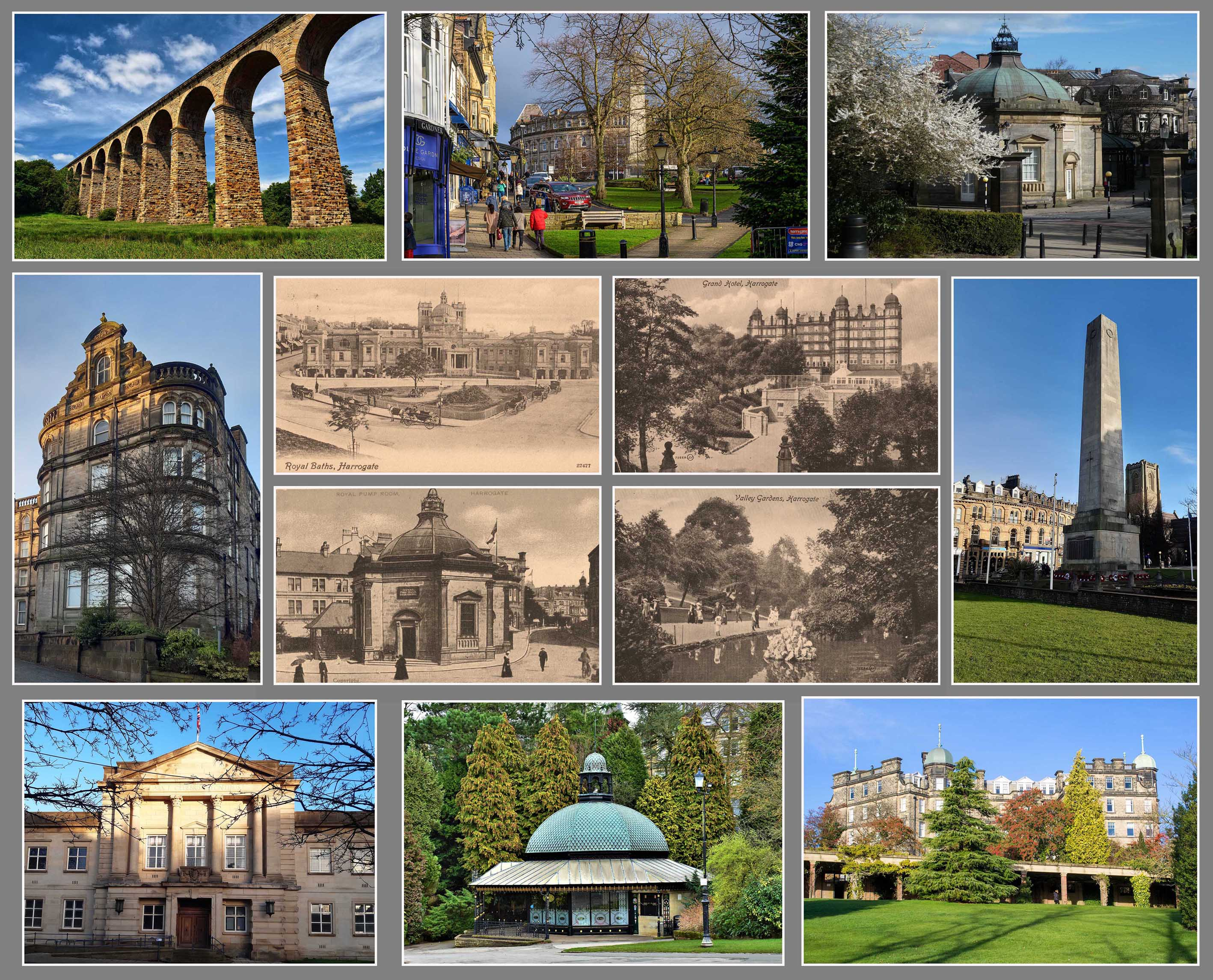 Postcards from Harrogate – Old and New