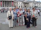 Members outside the National Gallery