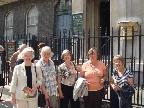 Members outside Sir John Soane