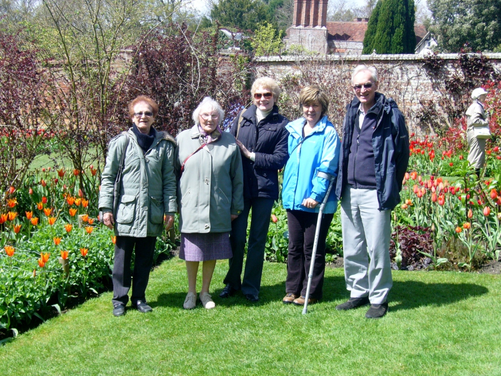 Group visit to Pashley Manor