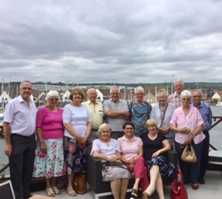 Group Leaders Lunch at Port Solent