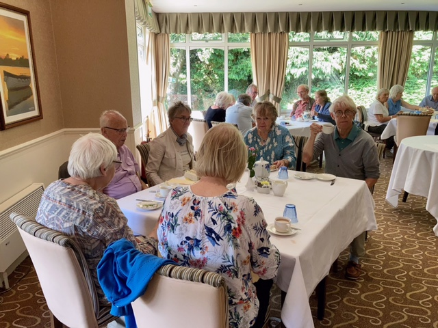 Tea at the Brookfield Hotel August 2021