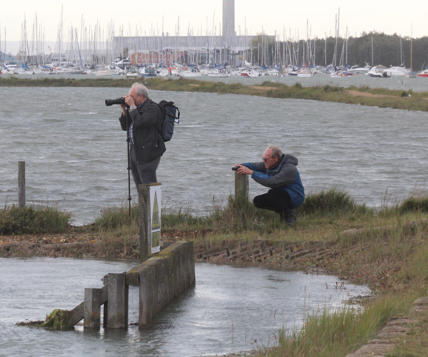 Danger! Photographers at work.