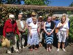 Gardening group at Hambledon House