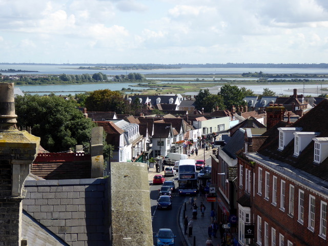 View from Maldon Moot Hall