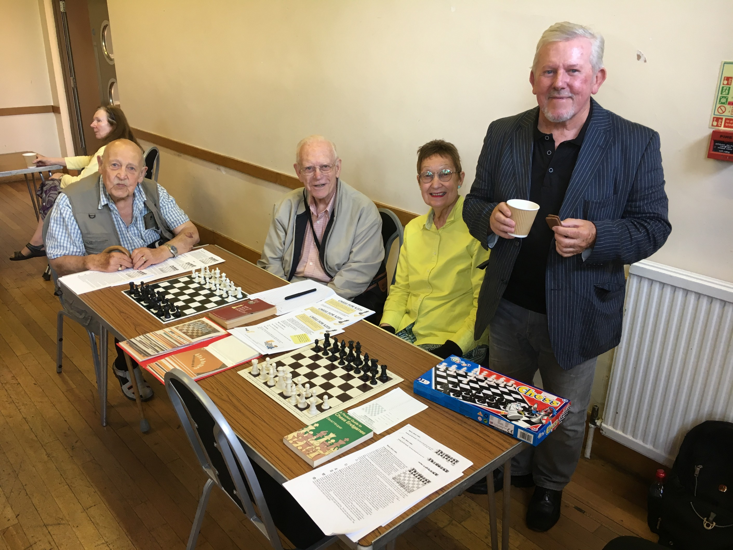Table of the Month July 19 - Chess