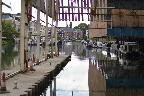 Brentford Basin through the loading dock