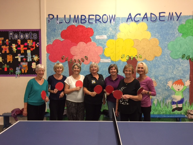 U3A table tennis