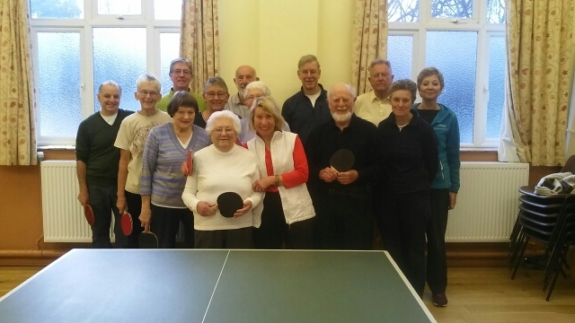 Table tennis group - July 2018
