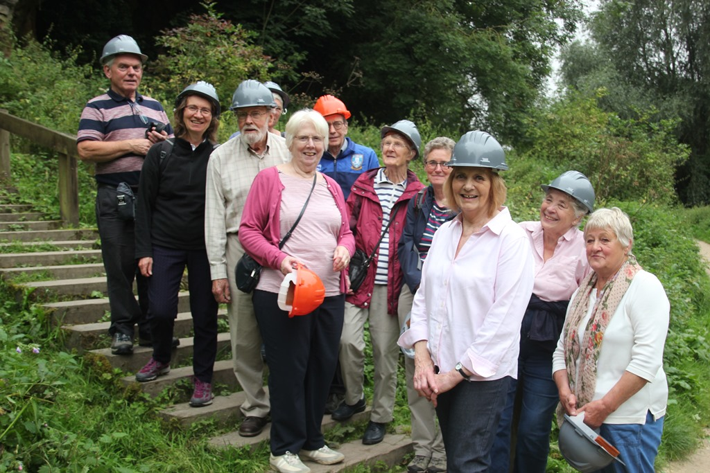 Visit to Creswell Crags August 2017