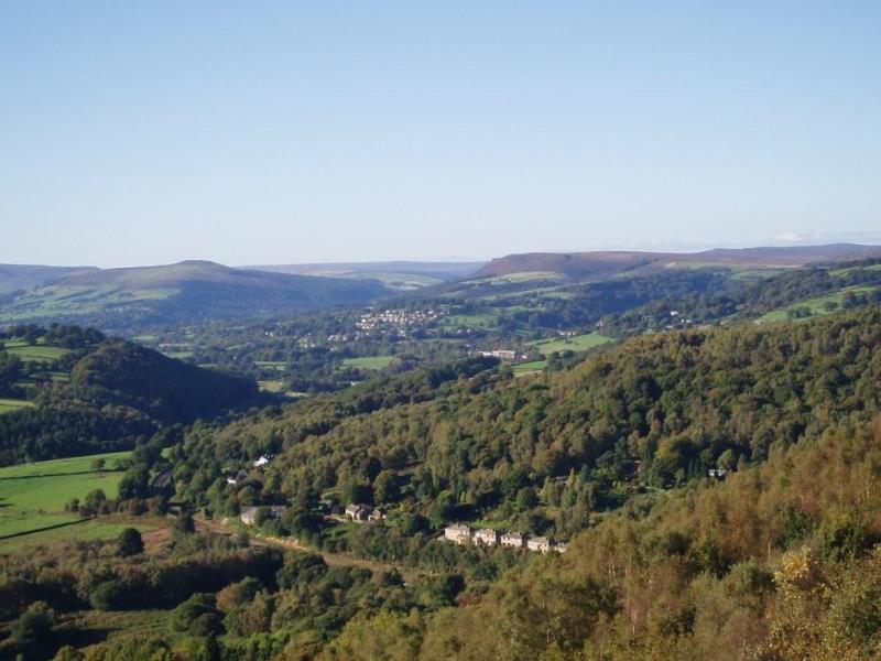 View over the Hope Valley