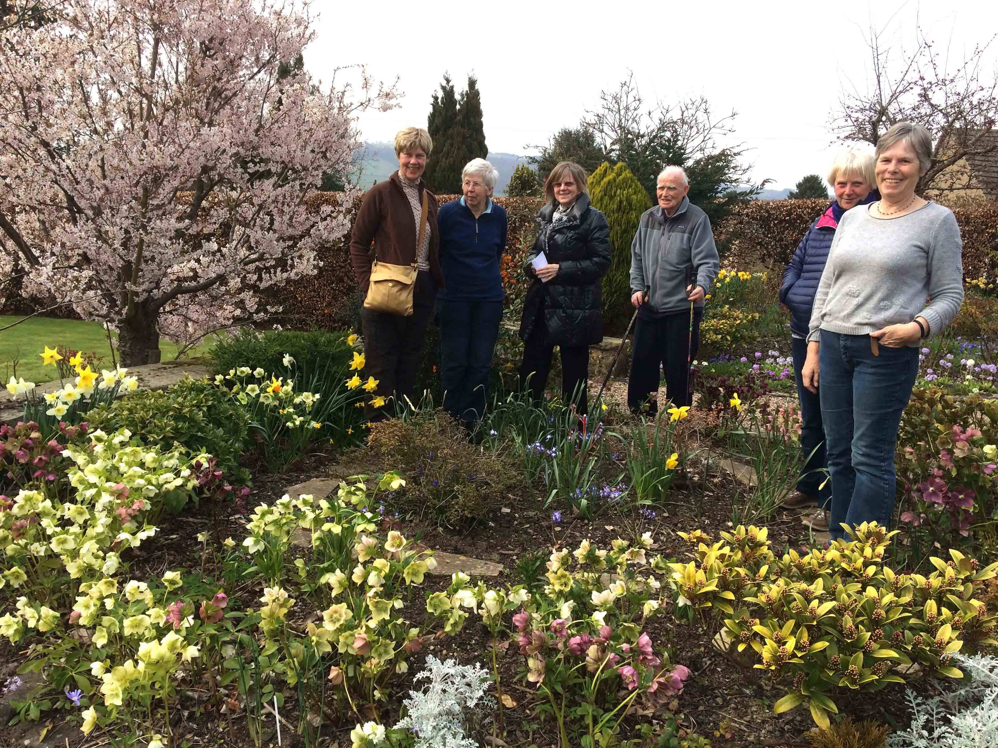 First meeting of the Gardening Group