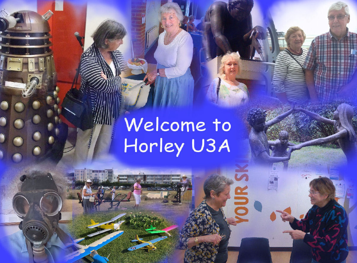 Horley U3A is very much alive