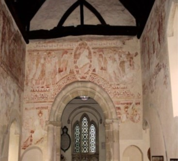 Frescos in St John the Baptist Church