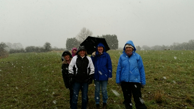 Ray made us walk in a snowstorm!