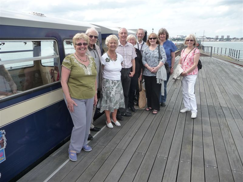 Visit to Southend Pier Museum