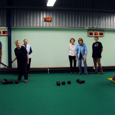 Some of our bowls players.