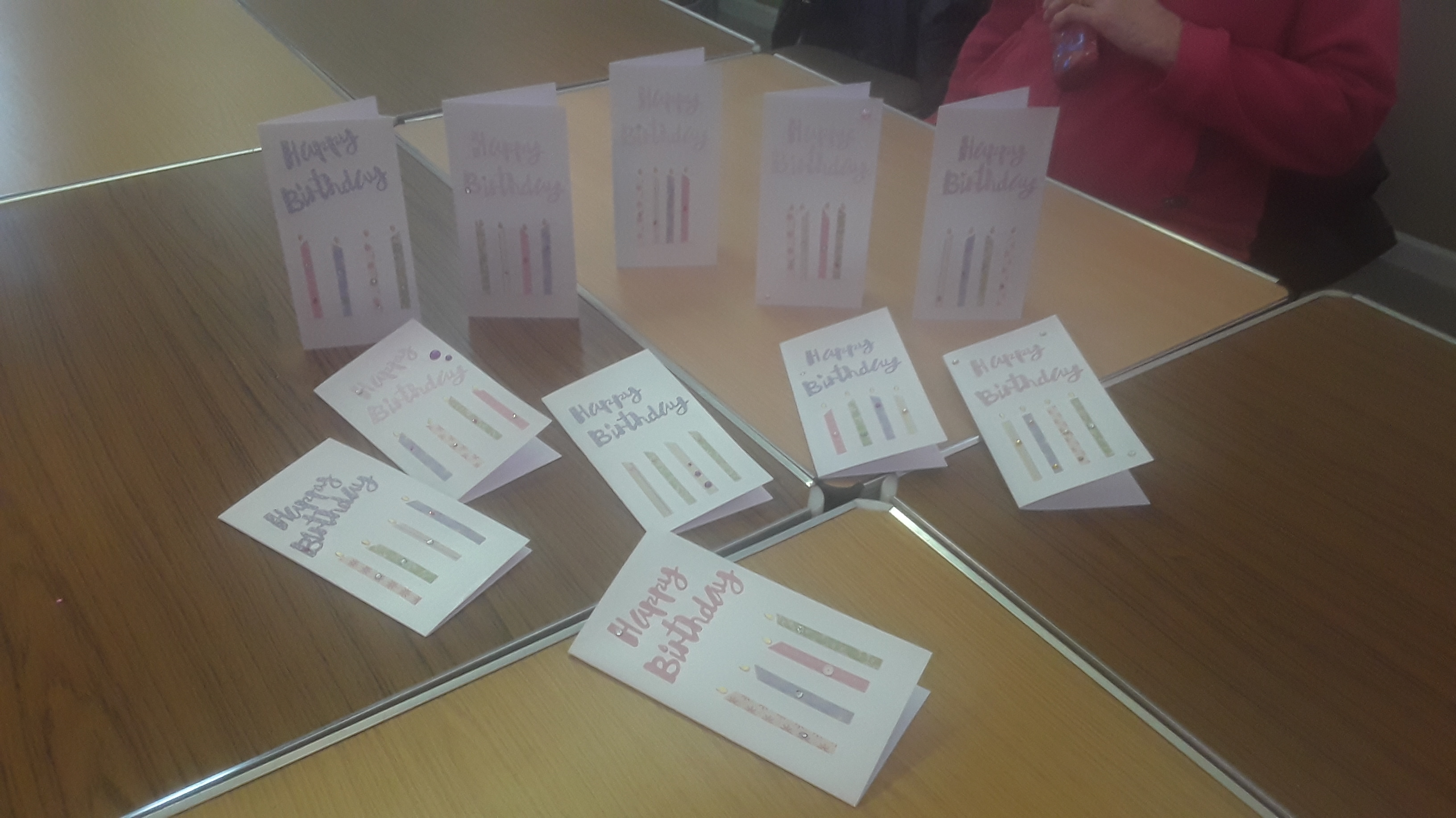 Cards produced at the first meeting 3/20