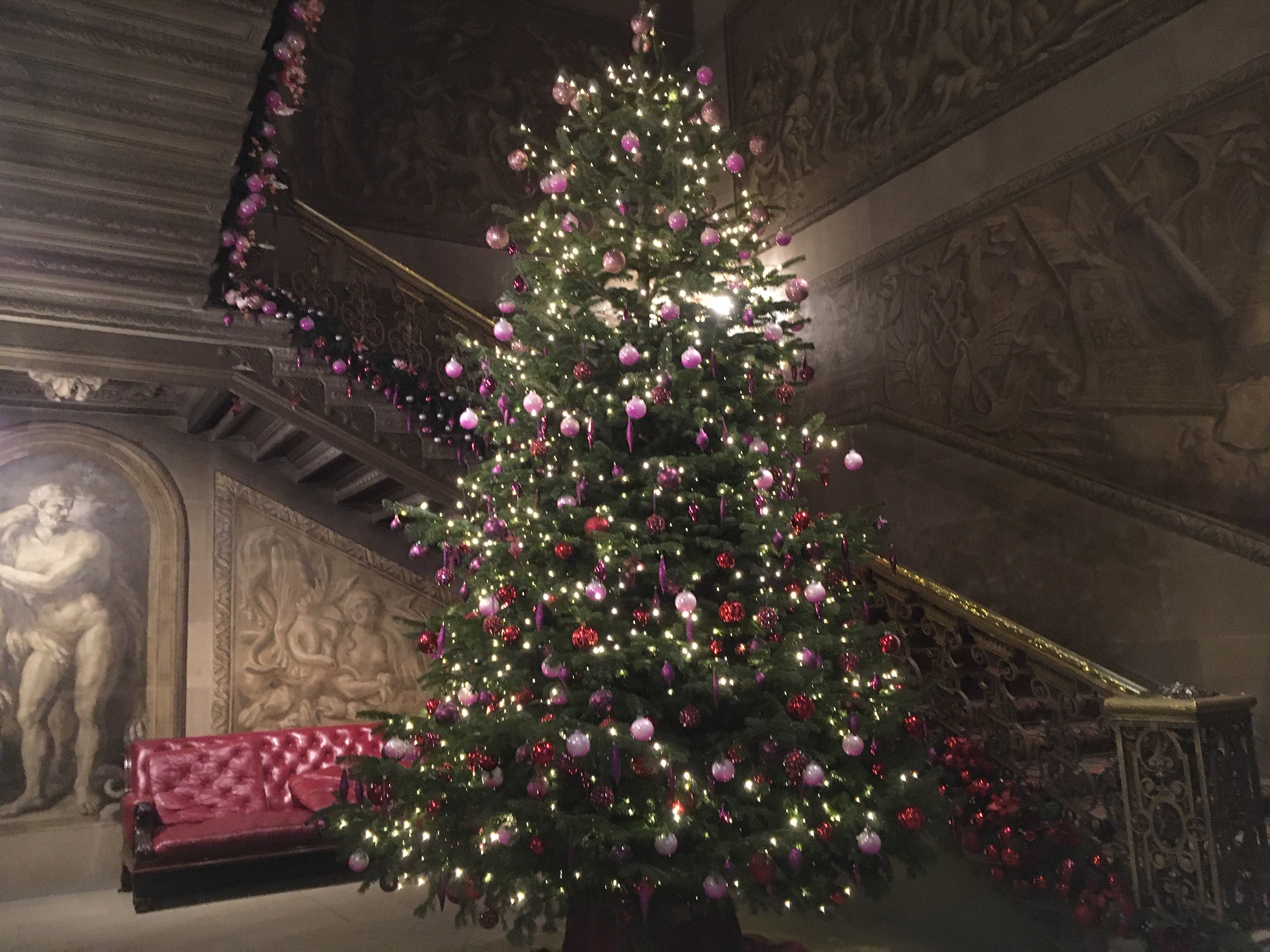 Chatsworth House Xmas Tree